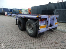 Trailer Pacton 20 FT chassis / Steel suspension / Double montage tweedehands containersysteem