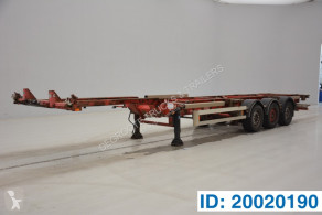 Semirimorchio Van Hool Skelet 20-30-40 ft portacontainers usato