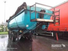 trailer Schmitz Cargobull Tipper steel-square sided body