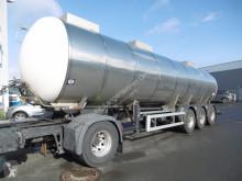 Schrader Lebensmitteltankauflieger 32.000 Ltr. Tankinhalt (Nr. 4589) semi-trailer used food tanker
