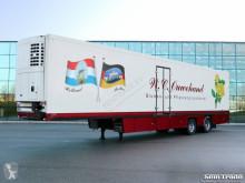 Félpótkocsi Floor THEO MULDER BLOEMEN VERKOOP 2-AS STUURAS KOELING KACHEL KLEP használt hűtőkocsi
