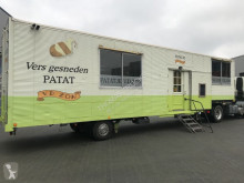 Netam Foodtruck / Mobiel Cafetaria -Lunchroom / Food Truck (B/E rijbewijs) semi-trailer