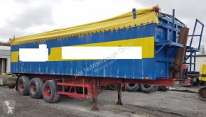 semi remorque Stas 0-34/3FAK Luft Stahl/Alu Portaltüren 40 m³