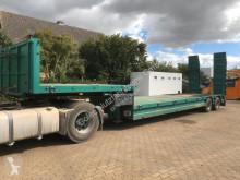 semi remorque Lecitrailer Tieflader 2 Achse mit Rampen max. Gewicht 37 Ton