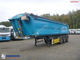 Benalu Tipper trailer alu 29 m3 + tarpaulin semi-trailer used tipper