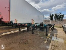 semi remorque Lecitrailer Porte container surbaissé 4797 ST 39