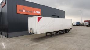 semi remorque Tracon Uden TRIDEC-gestuurd, liftas, ondervouwklep, NL-trailer