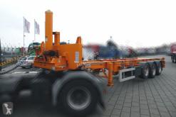 Semi reboque Mafa Containerauflieger 40.27 E HK Containerauflieger Kippbar chassis usado