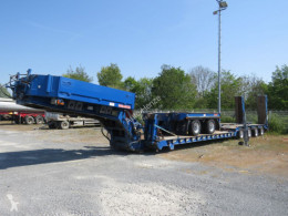 Langendorf heavy equipment transport semi-trailer Satteltiefladeauflieger Tiefladerauflieger