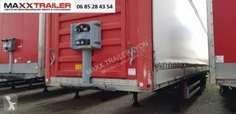Semitrailer Fruehauf ridelles alu MINES UN AN skjutbara ridåer (flexibla skjutbara sidoväggar) begagnad