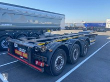 Semirimorchio Lecitrailer Double extension 20-2x20-40et45' furgone usato