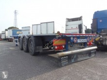 Semitrailer containertransport begagnad TecnoKar Trailers