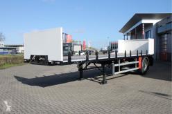 Yarı römork Burg BPO 12-10 bladgeveerd platte trailer