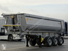 Yarı römork Zasław TIPPER 28 M3 / WHOLE STEEL / LIFTED AXLE / 2017