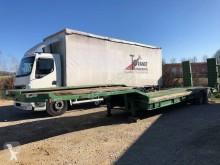 naczepa do transportu sprzętów ciężkich Louault
