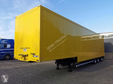 semi remorque Floor FLSDO-12 Gesloten Semi dieplader - Smit Aluminiumopbouw - Stuur-as - Lift-as - Gestraald en Gespoten Chassis en Opbouw! 05/2020A