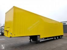 Floor FLSDO-12 Gesloten Semi dieplader - Smit Aluminiumopbouw - Stuur-as - Lift-as - Gestraald en Gespoten Chassis en Opbouw! 05/2020A semi-trailer
