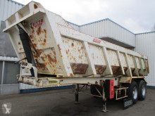 Semi remorque Castera AMC 12.499 Tipper , , Spring suspension , drum brakes benne occasion
