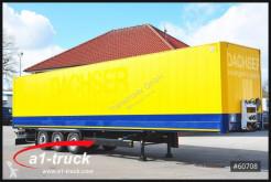 semirremolque Krone SDK 27, Koffer, Textil, Doppselstock mit Balken,