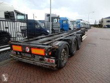 trailer Kögel SW 24 Chassis / SAF Disc / Extendable on the back