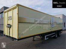 Ackermann PS-F 18/11.5 E / Lenkachse / Ladebordwand semi-trailer