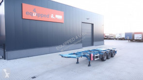 Burg 20FT/30FT, BPW, ADR (EXII, EXIII, FL, OX, AT), NL-CHASSIS, APK/ADR: 12/2020 semi-trailer