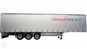Trouillet semi-trailer used tautliner