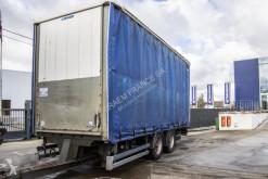 Félpótkocsi Lecitrailer BACHE-TANDEM használt furgon