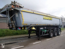 Schmitz Cargobull STEEL TIPPER 28 m3 (HARDOUX) 2x LIFT AXLES+SAF+ELECTRIC ROOF semi-trailer