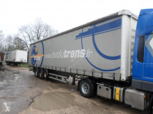 Fruehauf TX34CW semi-trailer damaged tautliner