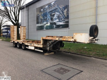 Fournier Lowbed 45000 KG, Lowbed semi-trailer used heavy equipment transport