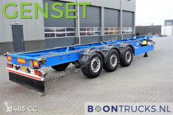 Trailer containersysteem Schmitz Cargobull SGF*S3 | CARRIER GENSET * 40-45FT HC * DISC BRAKES * 4220 KG