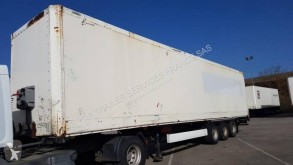 Krone FOURGON 3 ESSIEUX semi-trailer used plywood box