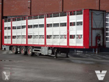 Fliegl 3 Stock Livestock trailer semi-trailer used cattle
