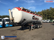 Feldbinder tanker semi-trailer Powder tank alu 45 m3 (tipping)