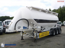 Feldbinder Powder tank alu 40 m3 / 1 comp semi-trailer used tanker