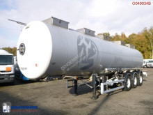 semi reboque Magyar Chemical tank inox 32.6 m3 / 1 comp