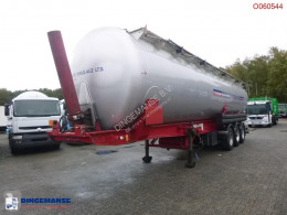Powder tank alu 58 m3 (tipping) semi-trailer used tanker