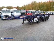 Semi remorque porte containers Dennison 4-axle container combi trailer (3 + 1 axles) 20-30-40 ft