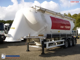 Spitzer Powder tank alu 39 m3 / 1 comp semi-trailer