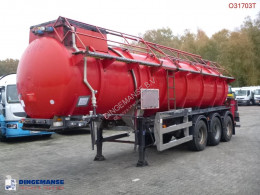 Clayton chemical tanker semi-trailer Chemical ACID tank steel 23.7 m3 / 1 comp