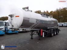 Maisonneuve Chemical tank inox 28.3 m3 / 1 comp semi-trailer used chemical tanker