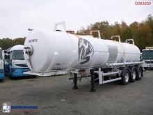 Trailer Maisonneuve Chemical acid tank inox 24.5 m3 / 1 comp tweedehands tank chemicaliën