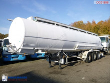 Trailor Fuel tank alu 37.7 m3 / 7 comp semi-trailer used tanker