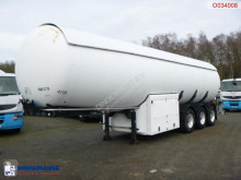 Guhur Gas tank steel 49 m3 + pump/counter semi-trailer used gas tanker