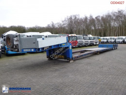 Doll lowbed trailer T3H-S3F/25 / 65 t / 3 steering axles semi-trailer used heavy equipment transport