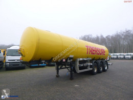 Clayton Food (beer) tank inox 30 m3 / 1 comp semi-trailer used food tanker