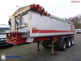 Meierling Tipper trailer alu 21 m3 + tarpaulin semi-trailer used tipper