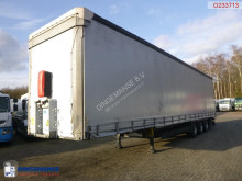 Schmitz Cargobull Mega curtain side trailer + sliding roof semi-trailer used tautliner