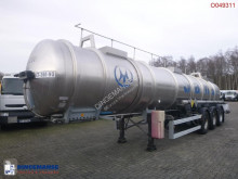 Magyar Chemical ACID tank inox 22.5 m3 / 1 comp semi-trailer used chemical tanker